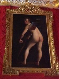 Cupid in the King's bedroom at Kensington