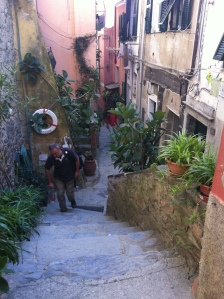 Vernazza near end of hike