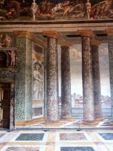 The Perspective Room Villa Farnesina Trastevere Rome