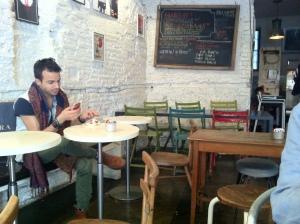 Barnum's coffee bar on via Peligrino