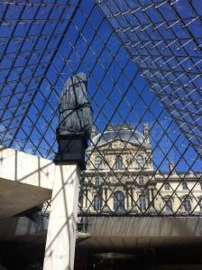 Louvre thru the Pyramid