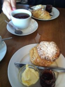 cream tea in Cotswold