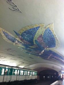metro Cluny stop