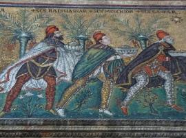 closeup of 3 kings